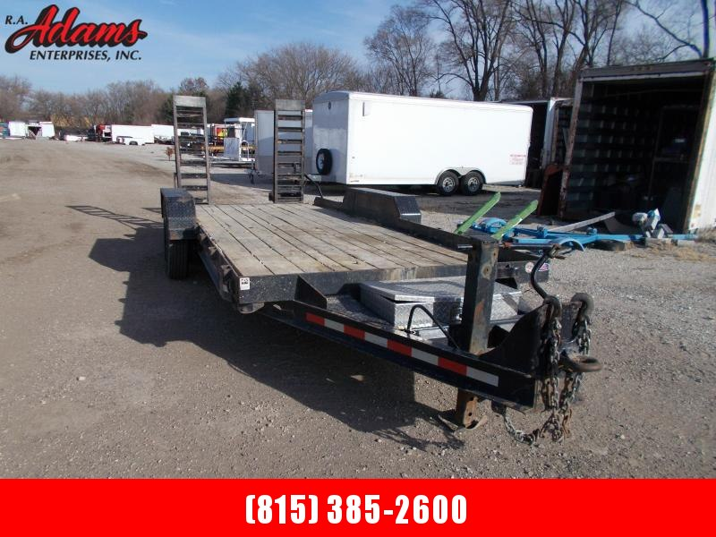 2018 Cam Superline 8CAM18 Equipment Trailer
