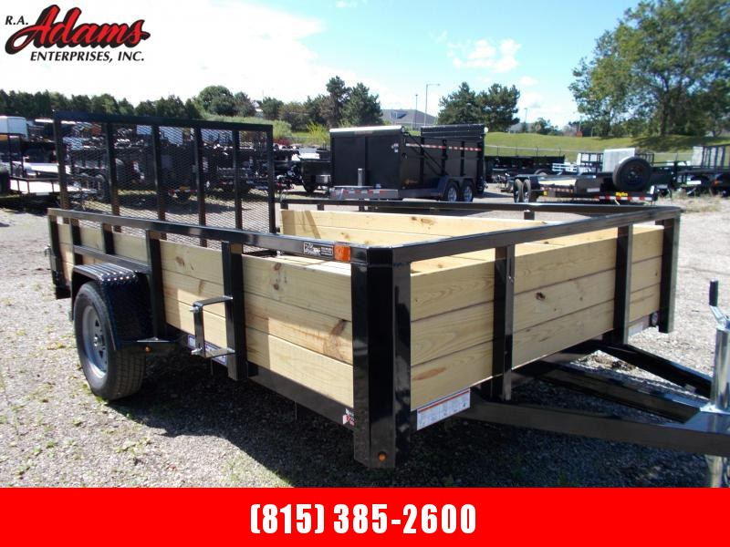 2020 Sure-Trac ST8212HST-B-030 Utility Trailer