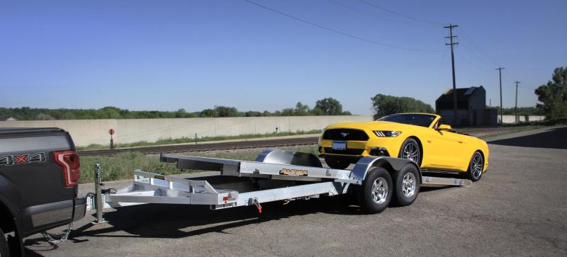 2022 Aluma 8220HTILT Car / Racing Trailer