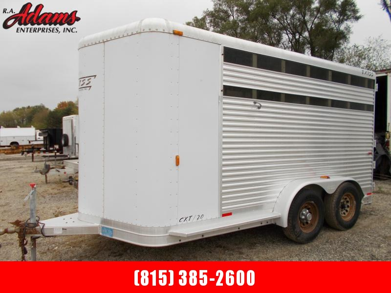 2002 Exiss Trailers CXT20 2-Horse Trailer