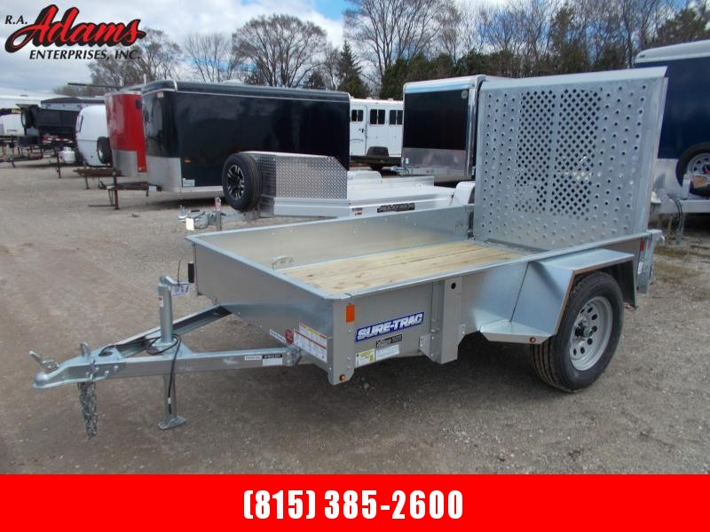 2019 Sure-Trac ST6008-GAL Utility Trailer