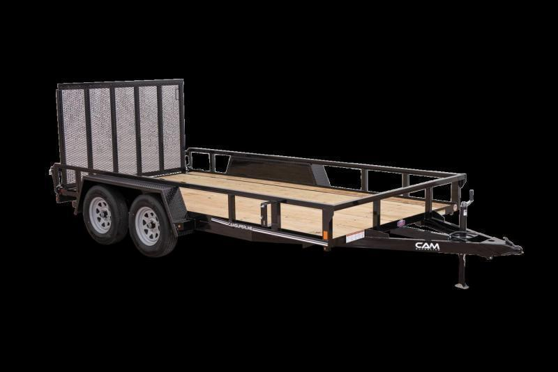 2021 Cam P8216TAT-B-070 Utility Trailer