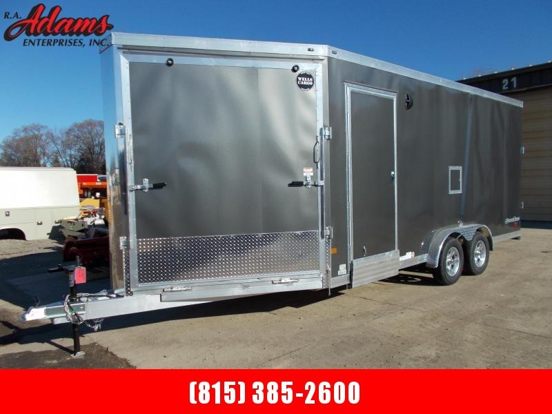 2020 Wells Cargo STM7524T2 Snowmobile / Cargo Trailer