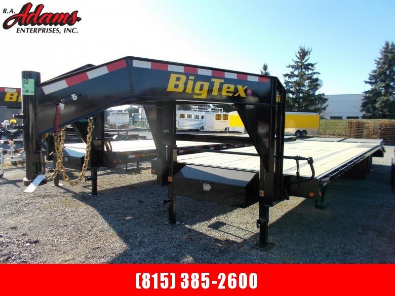 2021 Big Tex 16GN-25+5 Equipment Trailer