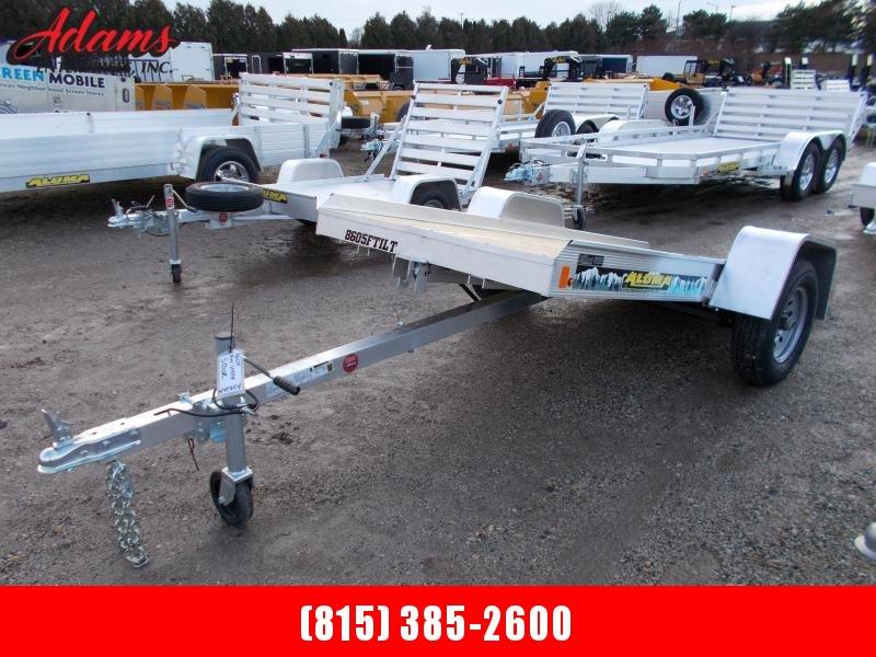 2020 Aluma 8605 Snowmobile Trailer