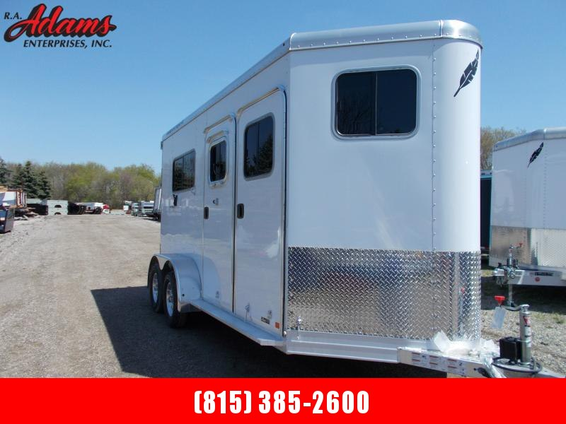 2020 Featherlite FL9407 2-HORSE Horse Trailer