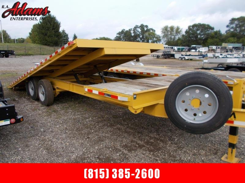 2021 Cam Superline P8CAM824DOSTT Equipment Trailer