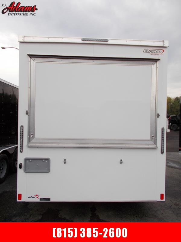 2022 Bravo Trailers ST712SA Vending / Concession Trailer