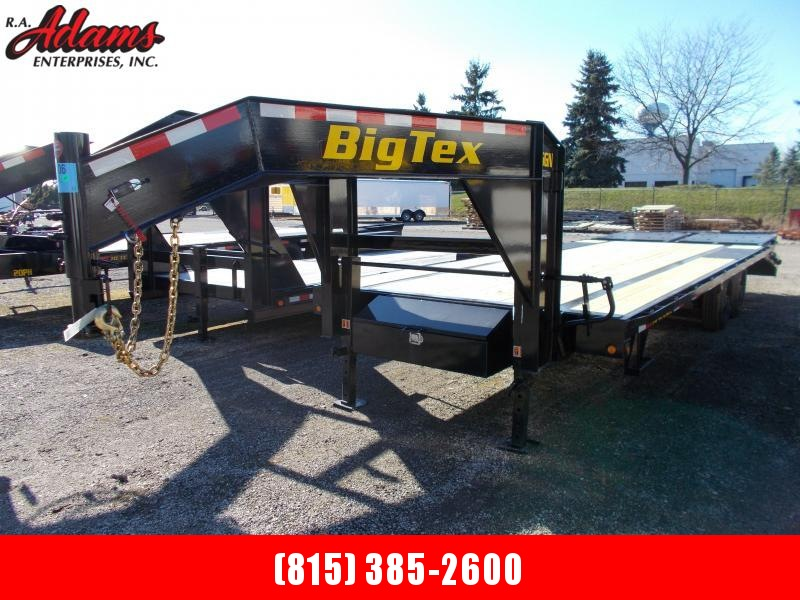 2021 Big Tex 16GN-20+5 Equipment Trailer