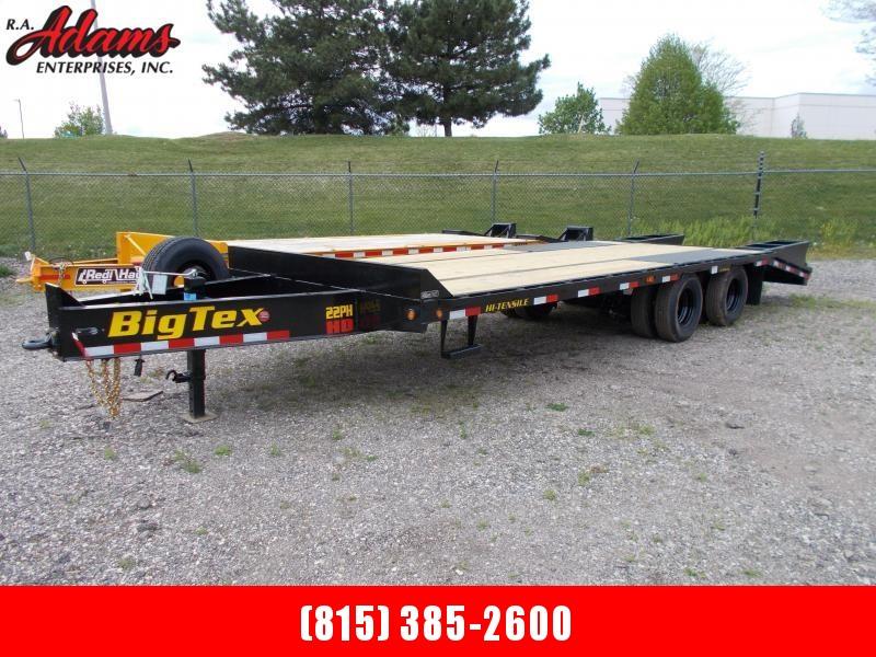 2021 Big Tex 22PH-20+5 Equipment Trailer