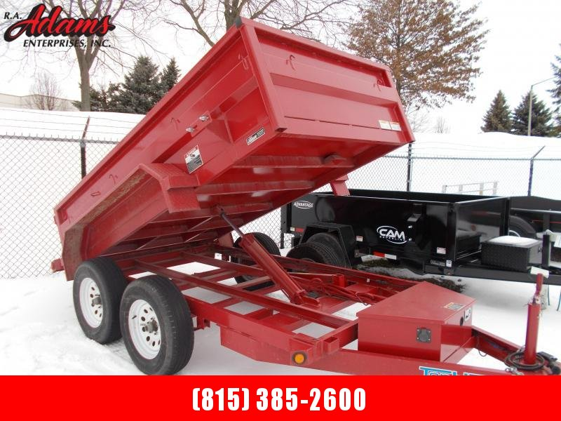 2018 Top Hat DP70-10X60-7E-S Dump Trailer