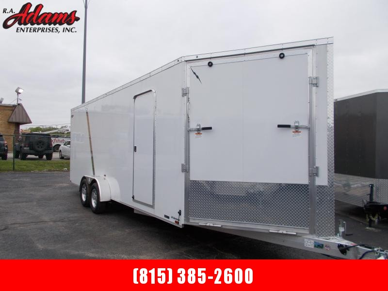 2021 Lightning Trailers LTFES722TA2 Snowmobile Trailer