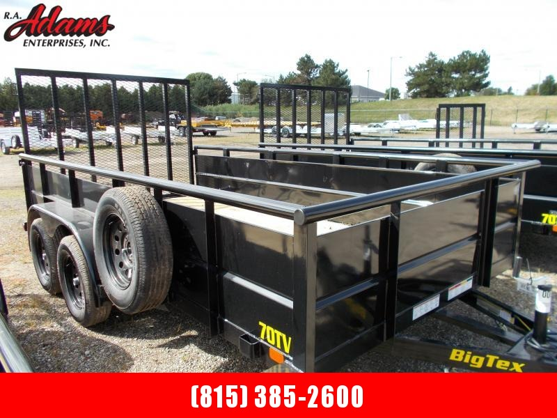 2021 Big Tex 70TV-14 Utility Trailer
