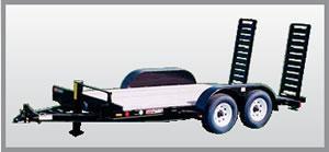 2021 Mac-Lander 14TSLWB Equipment Trailer