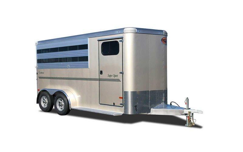 2022 Sundowner SS2HBP 2-Horse Trailer