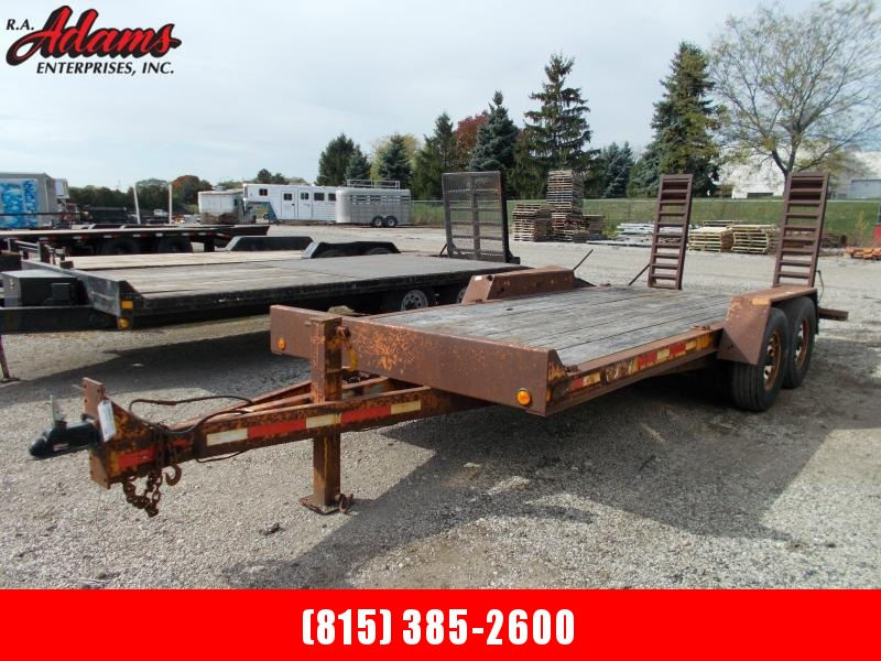 2002 RediHaul FSL1627E-102 Equipment Trailer