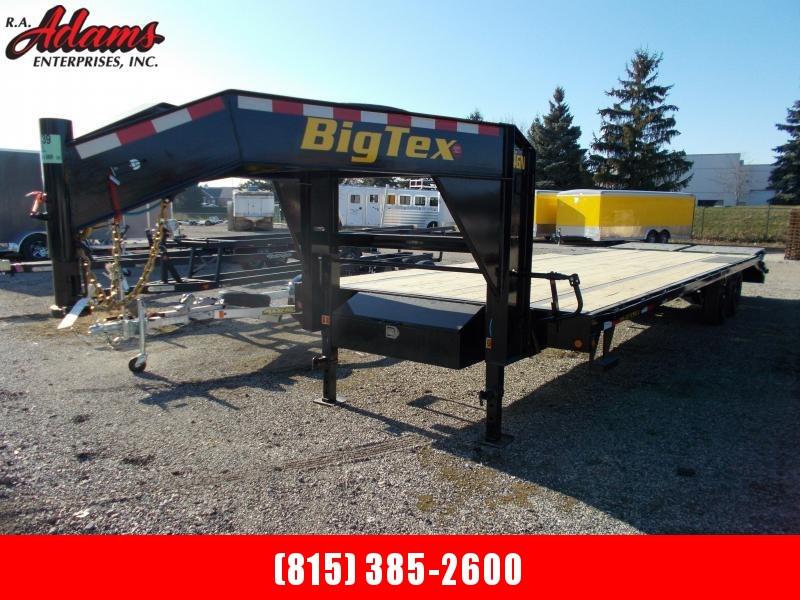 2021 Big Tex 14GN-25+5 Equipment Trailer