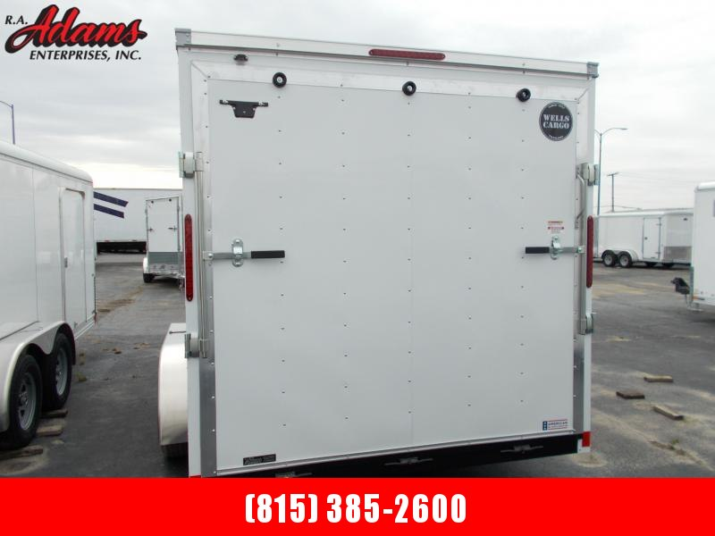 2021 Wells Cargo FT716T2-D Cargo / Utility Trailer