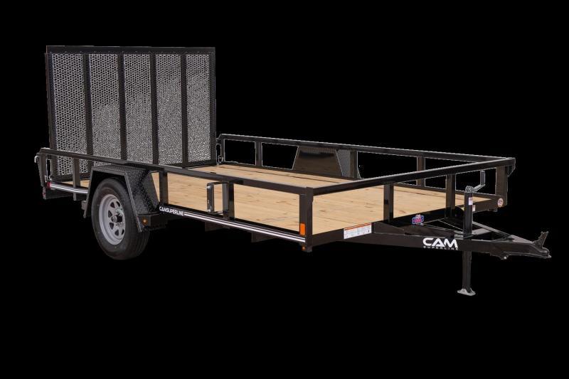 2021 Cam P7212TA-B-030 Utility Trailer