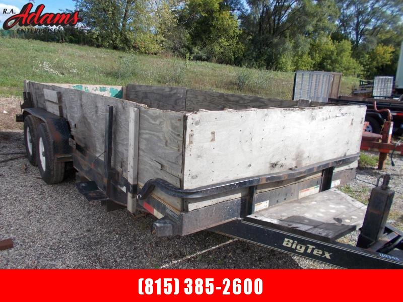 2007 Big Tex 14CC-18 Equipment Trailer