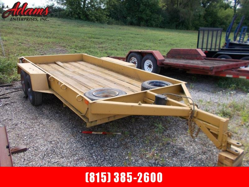 1992 Homemade HMFLATBED Utility Trailer