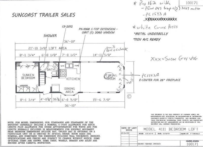 2022 Fairmont Homes Inc. FM100171-22-1