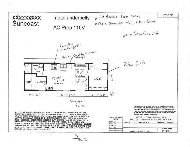 2022 Fairmont Homes Inc. FM190002