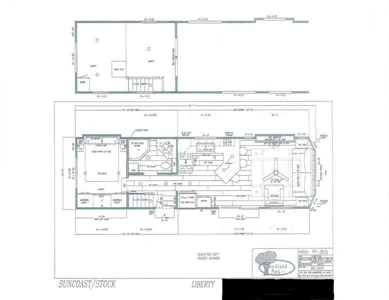 2022 Woodland Park Timber Ridge TR-260L Liberty