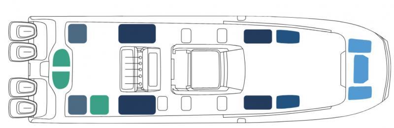2022 Invincible Boats 40' Catamaran