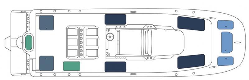2022 Invincible Boats 33' Catamaran