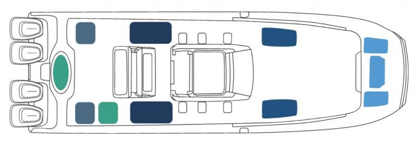 2022 Invincible Boats 37' Catamaran