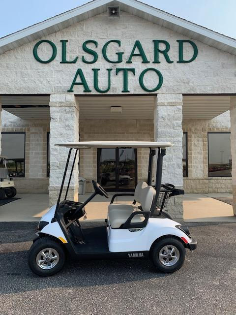 2021 White Yamaha Drive 2 Gas Golf Cart- #21-1