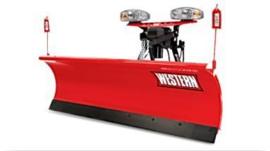 """2020 Western 7'6"""" Snow Plow - Pro-Plow Steel-20-3"""