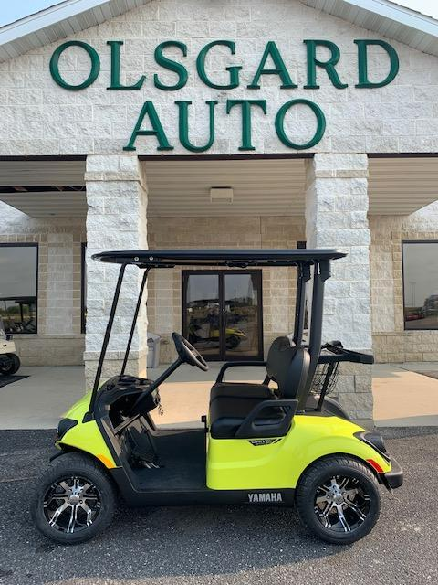 2021 Yellow Yamaha Drive 2 Gas Golf Cart- #21-4
