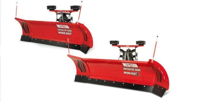 2020 Western 8' - 10' Snow Plow - WideOut- 20-20