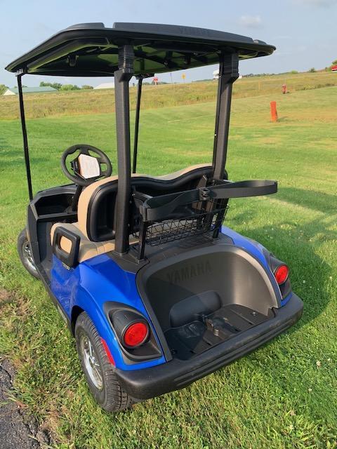 2021 Blue Yamaha Drive 2 Gas Golf Cart- #21-3