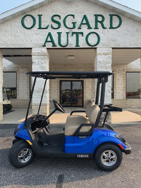 2021 Blue Yamaha Drive 2 Gas Golf Cart- #21-3