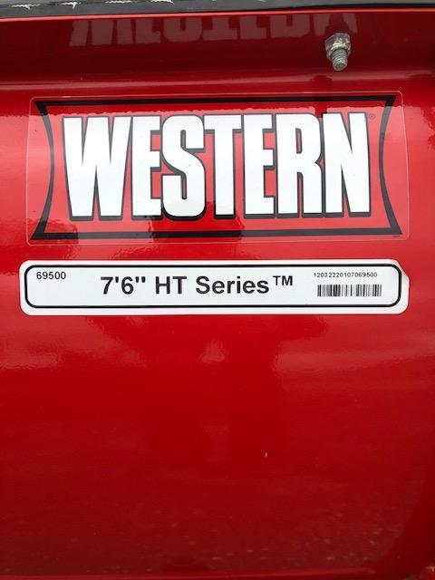 2012 Western HTS Snow Plow - $4000
