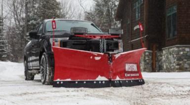 "2020 Western 7'6"" V Snow Plow - Enforcer Steel-20-4"