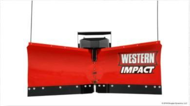 2020 Western 6' Snow Plow - Impact -UTV V-Plow - 20-23