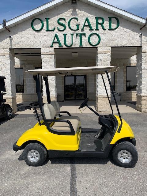 2012 Yamaha Yellow Drive Golf Cart- a59- $4400