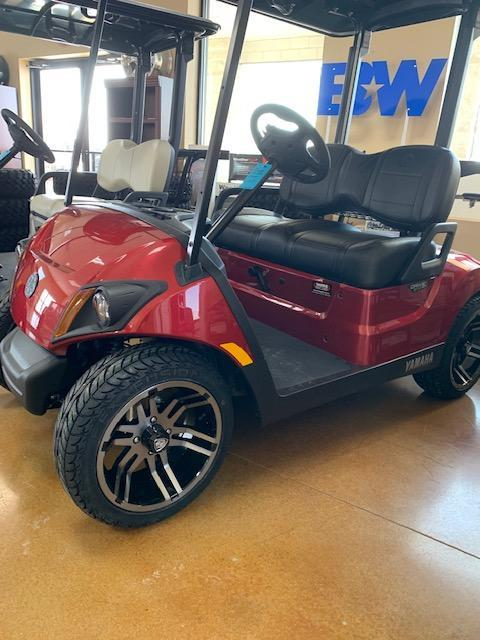 2021 Jasper Red Yamaha Drive 2 Gas Golf Cart- #21-8