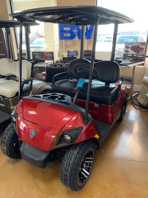 2021 Jasper Red Yamaha Drive 2 Gas Golf Cart- #21-8