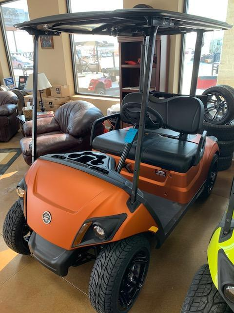 2021 Orange Yamaha Drive 2 Gas Golf Cart- #21-7