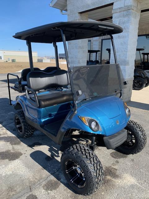 2012 Gas Yamaha Drive Golf Cart Med Blue- a53- $6945