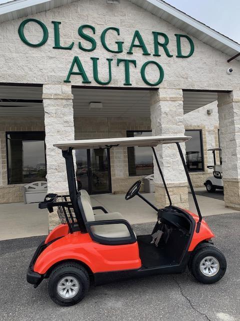 2012 Gas Orange Yamaha Drive Golf Cart- a18- $4400