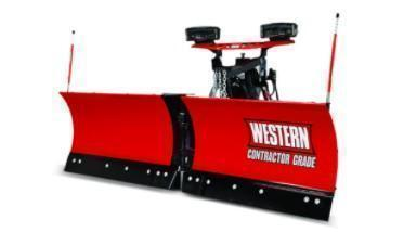 "2020 Western 8'6"" Snow Plow - MVP 3 - Stainless Steel - 20-10"