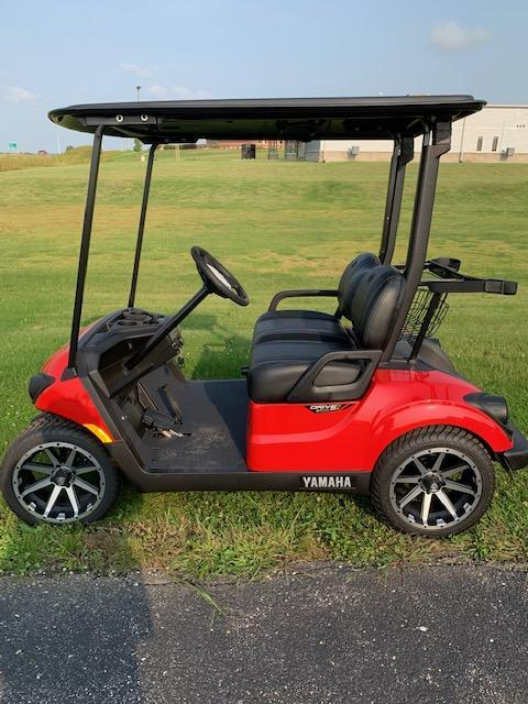 2021 Red Yamaha Drive 2 Gas Golf Cart- #21-5