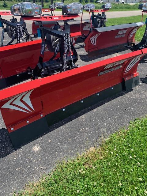 "2017 Western Wideout 8'-10"" Snow Plow - 802- $6600"