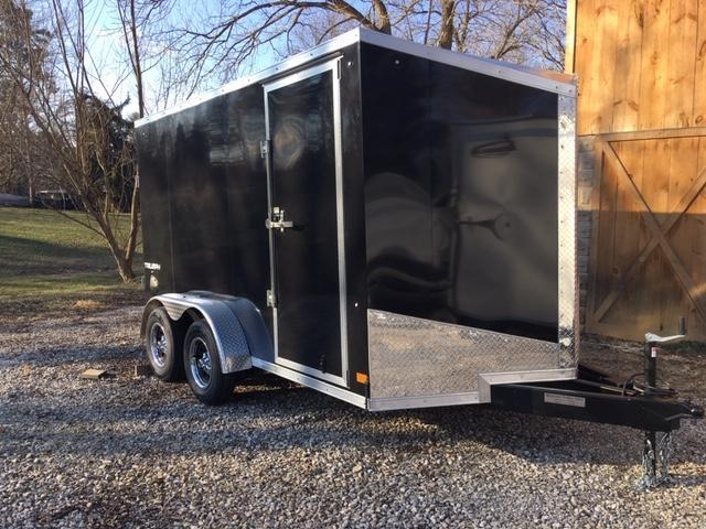 "2021 7' X 12' + 6"" EXTRA HEIGHT ENCLOSED CARGO TRAILER"